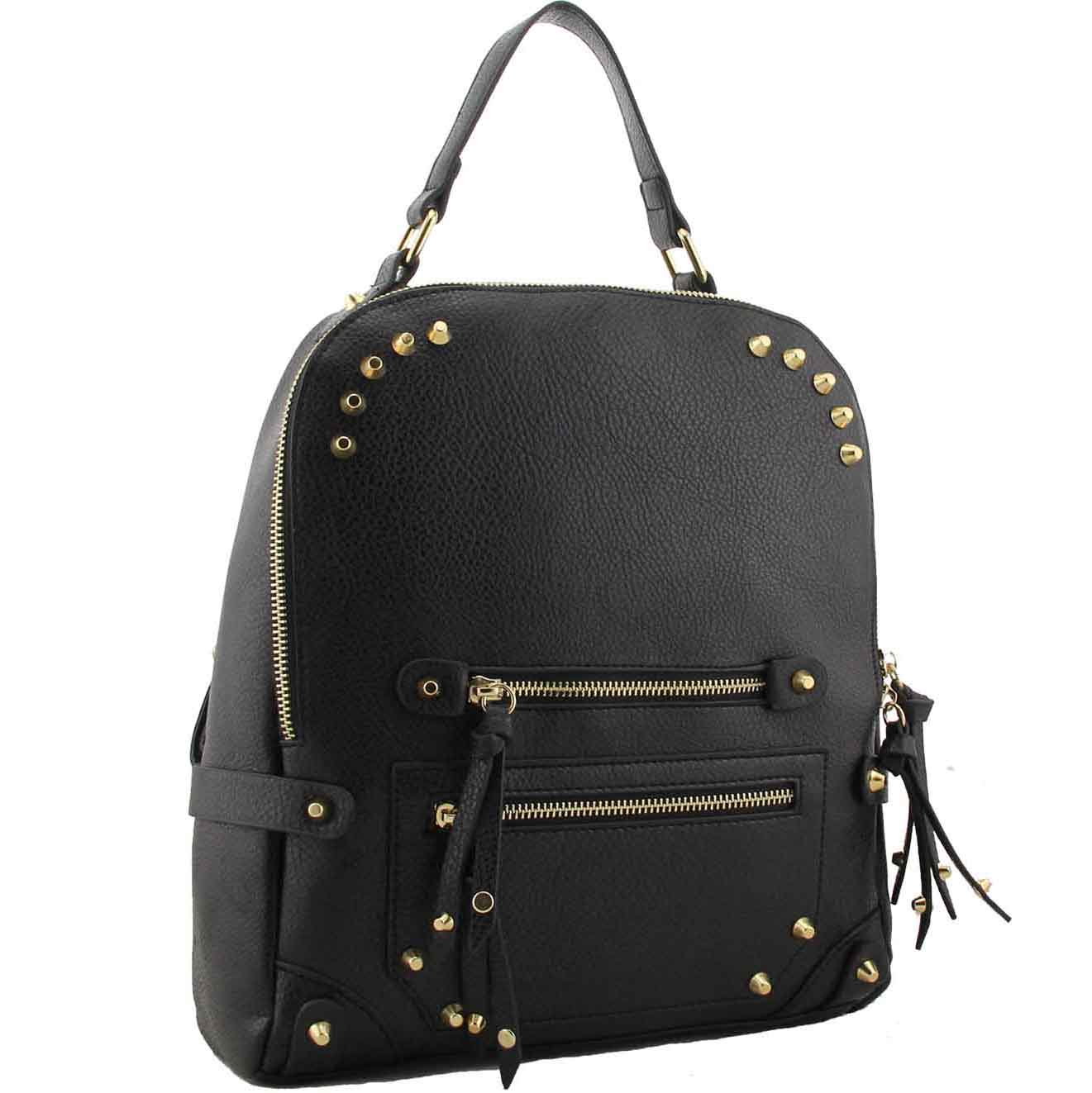 H1655 - Yetta fashion Designer Backpack black ~ BAGZONE - Suppliers ... d318fb988e199