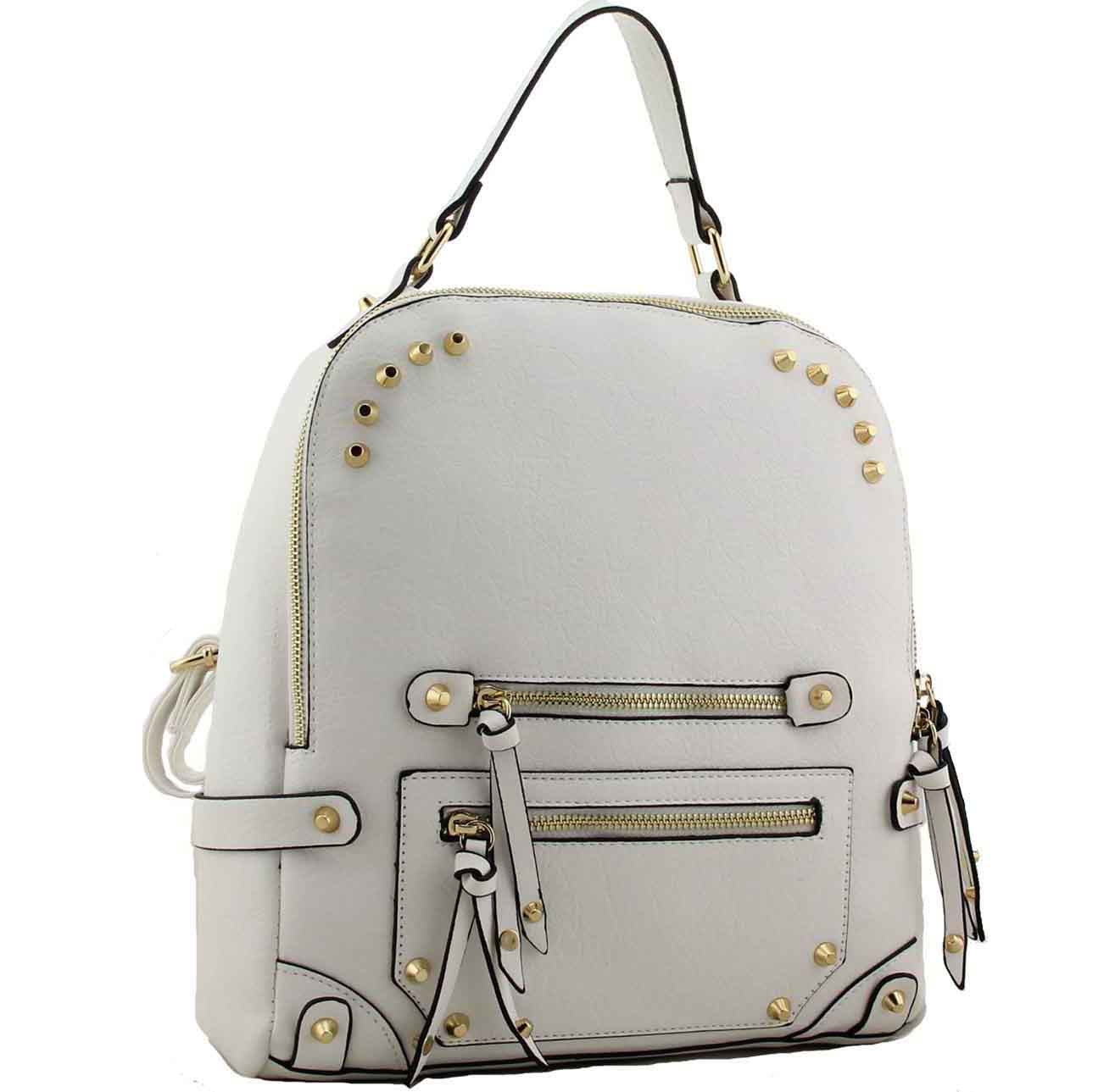 H1655 - Yetta fashion Designer Backpack white ~ BAGZONE - Suppliers ... c5490541f6b09