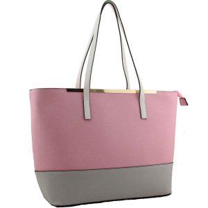 Pink Tote Handbag