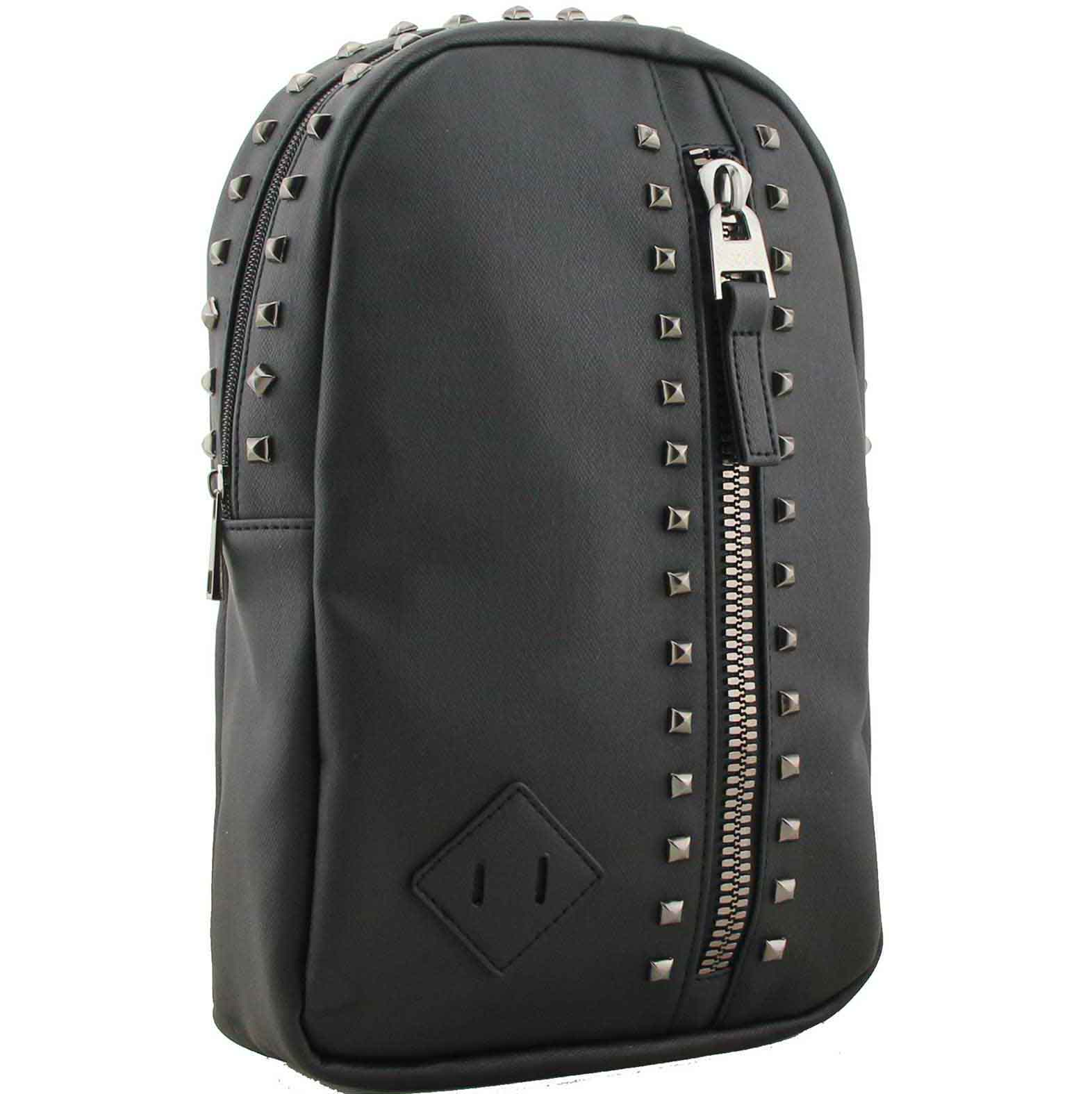 H1709 - Candice studded backpack black ~ BAGZONE - Suppliers of ... ecc97917b763e
