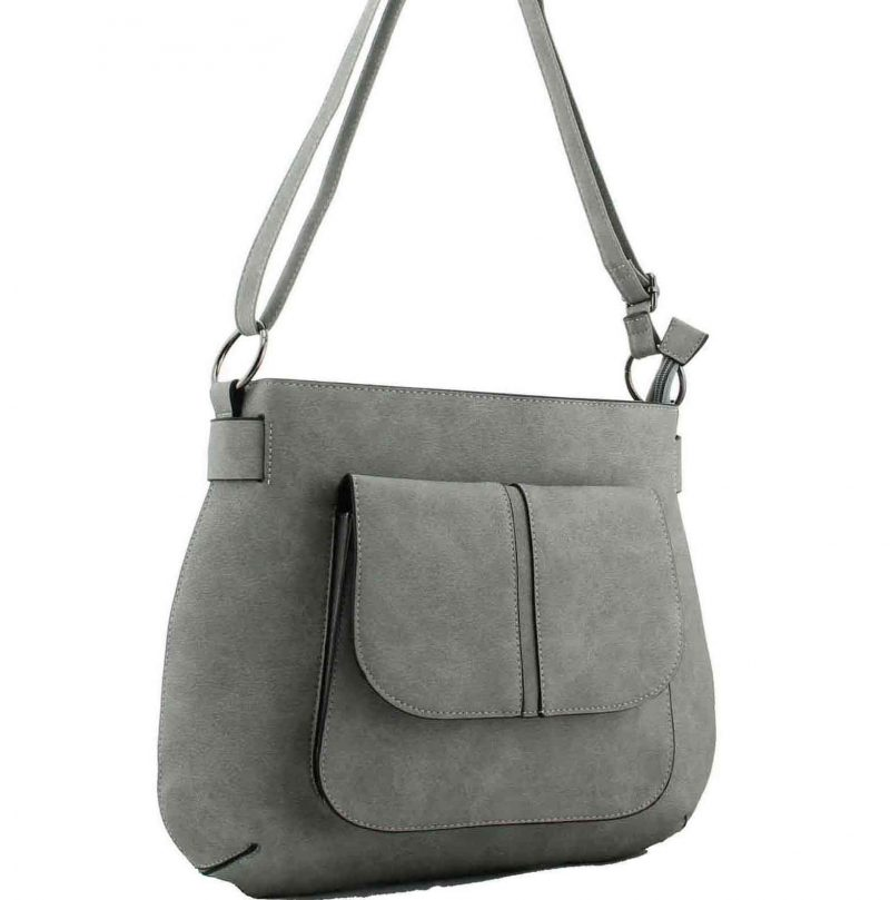 h1736 fashion handbag mavis grey