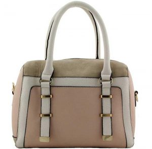 beige fashion bag