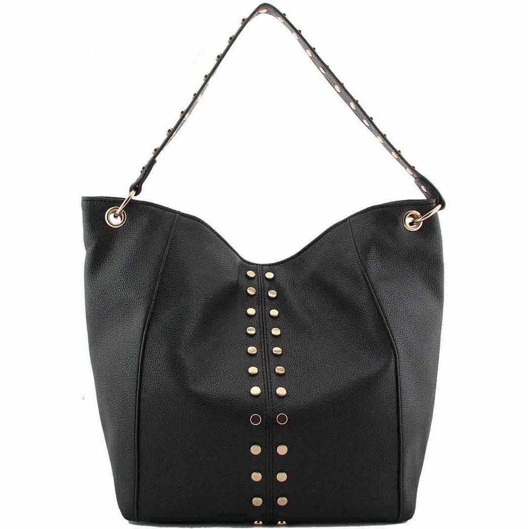 06c752d7904 black studded fashion bags - 185 - Wholesale Fashion bags at bagzone ...