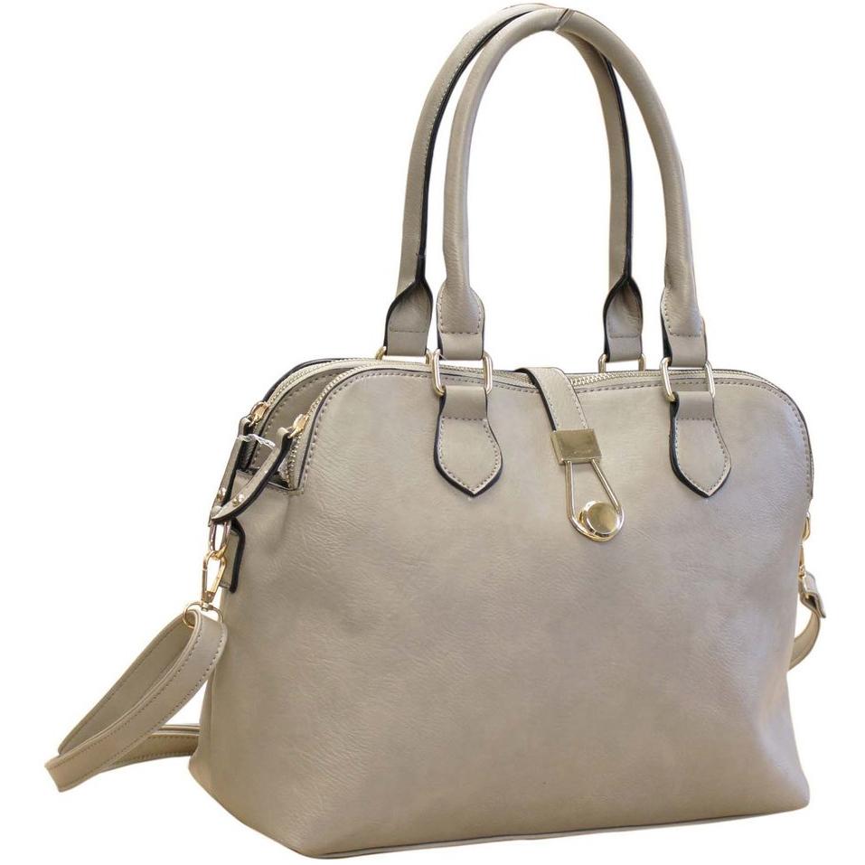 1a129bde8e6c 111 Grey - 3 Section PU Handbag ~ BAGZONE - Suppliers of Fashion ...