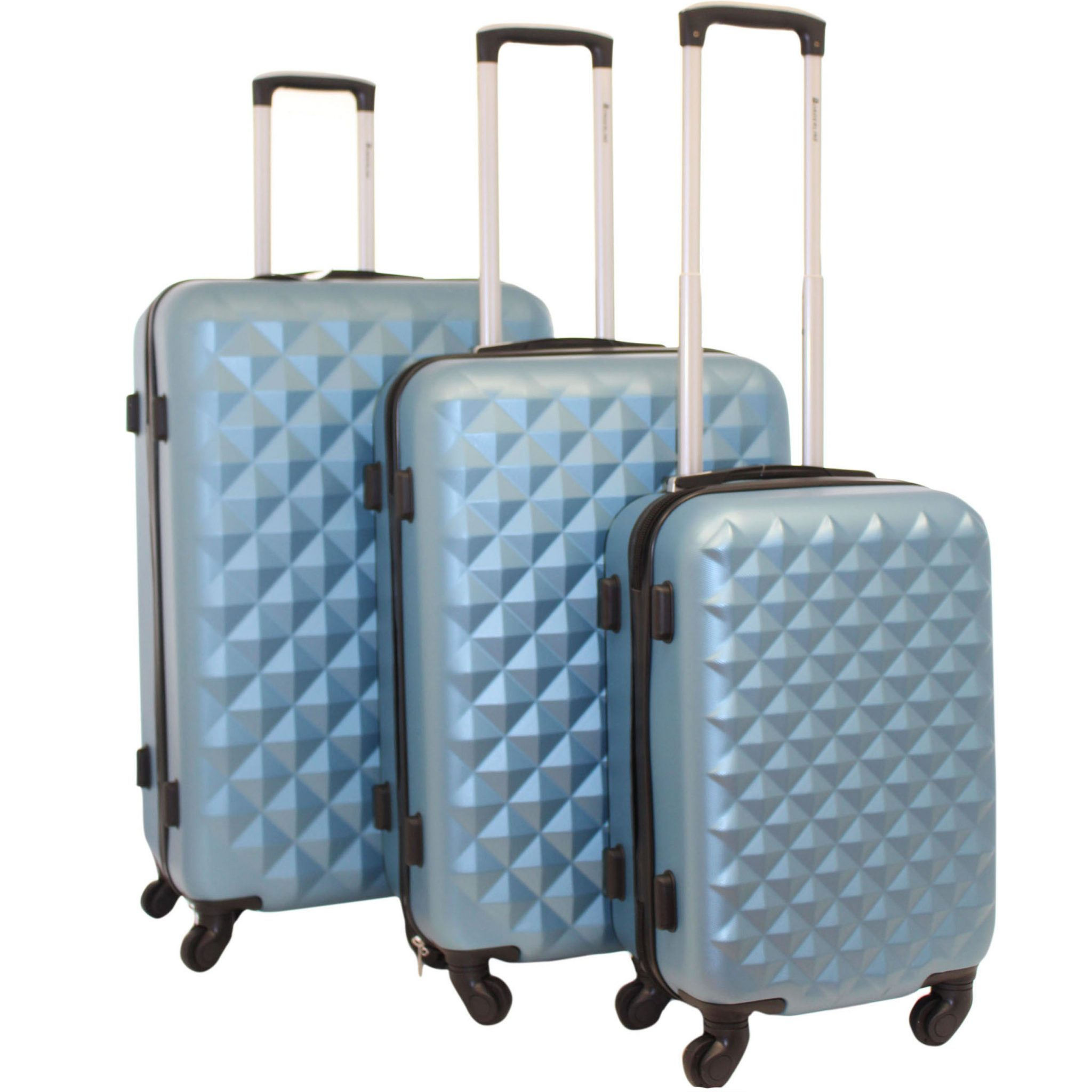 2020 Blue - Set of 3 Luggage ~ BAGZONE - Suppliers of Fashion ... c03308ae715f7