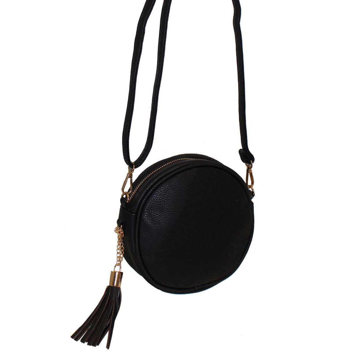 240 Black - Structured Round Handbag ~ BAGZONE - Suppliers of ...