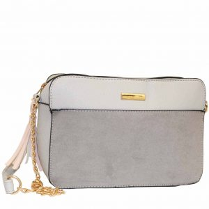 Grey Tassel handbag