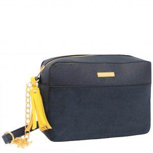 Navy Tassel handbag
