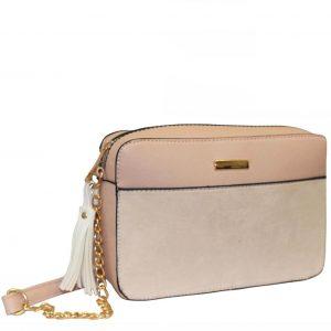Nude Tassel handbag