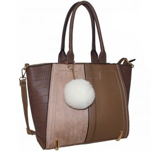 mink tote fashion bag