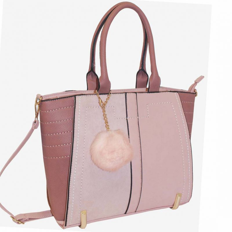 nude tote fashion bag