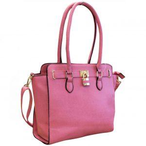 pink padlock handbag