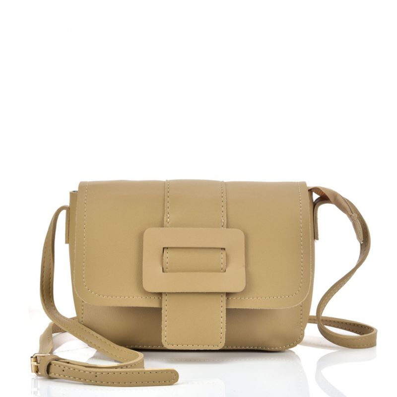 beige cross body