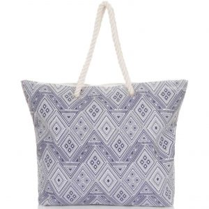 Diamond beach bag