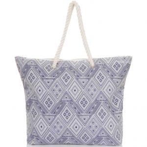 Diamond beach bag
