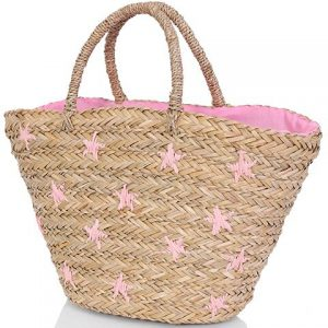 star straw beach tote