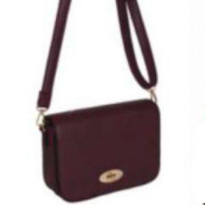 Wine Flap over handbag