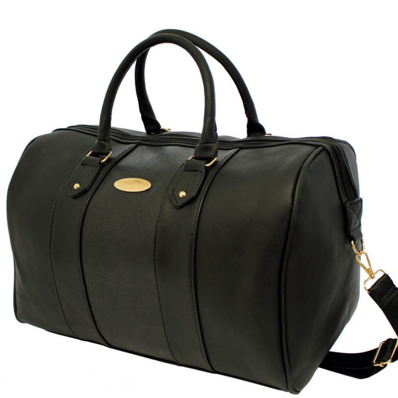 Black Barrel Travel bag