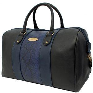 navy Barrel Travel bag
