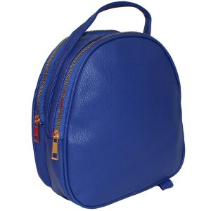 blue mini backpack