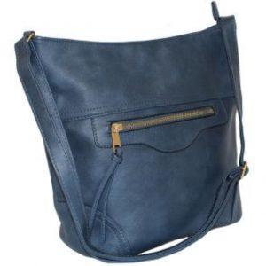 navy bucket handbag
