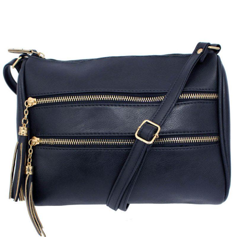 zip pocket handbag